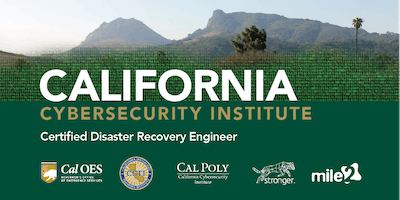 C)DRE — Certified Disaster Recovery Engineer / LiveRemote May 2020