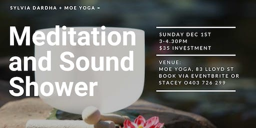 Meditation and Sound Shower with Sylvia Dardha