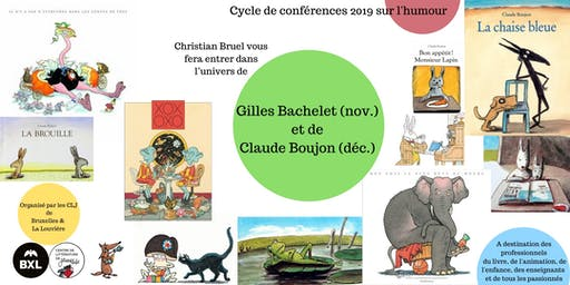 Humour - Claude Boujon - conférence par Christian Bruel
