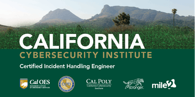 C)IHE — Certified Incident Handling Engineer / Live Remote August 2020