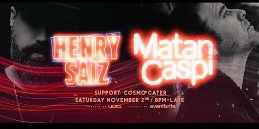 Henry Saiz +Matan Caspi @ Sub Rosa (Brisbane)