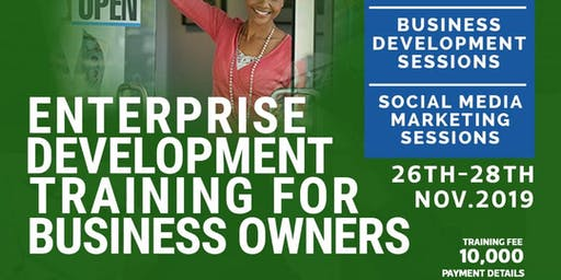 Enterprise Develompent Training for Business Owners