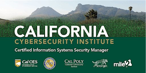 C)ISSM—Certified Information Systems Security Manager / LiveRemote February 2020