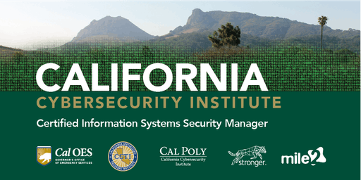 C)ISSM—Certified Information Systems Security Manager / LiveRemote April 2020