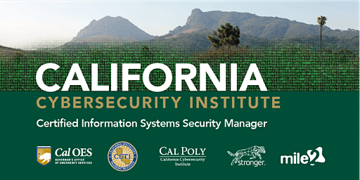 C)ISSM—Certified Information Systems Security Manager / LiveRemote August 2020