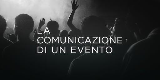 La comunicazione di un evento