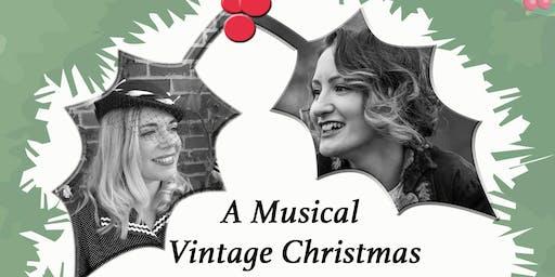 A musical vintage Christmas