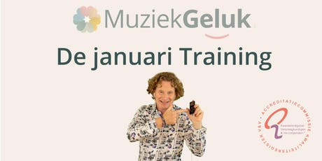 MuziekGeluk de Januari Training tickets