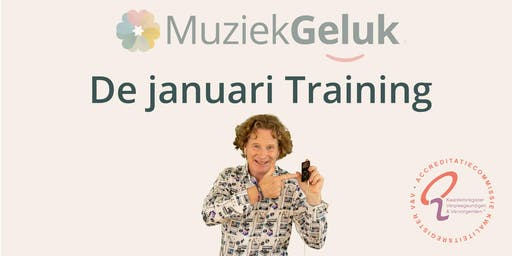 MuziekGeluk de Januari Training