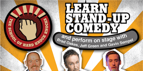 Melbourne: Learn Stand-up Comedy - Evenings: November 24 - 28, 2019 tickets