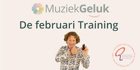 MuziekGeluk de Februari Training tickets