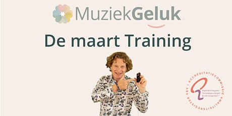 MuziekGeluk de maart-training tickets
