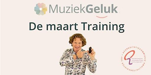 MuziekGeluk de Maart Training