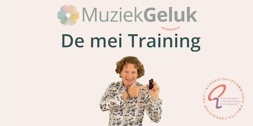 MuziekGeluk de Mei Training