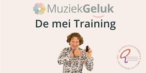 MuziekGeluk de mei-training
