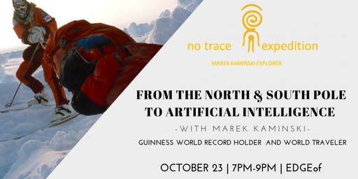Free Community Event: From the North & South Pole to AI @ EDGEof Clubhouse