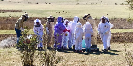 October beekeeping session, registered children only.