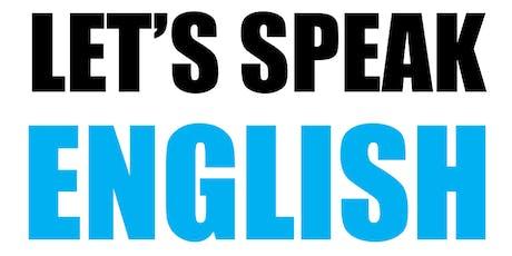 Let's Speak English! tickets