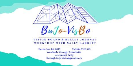 BuJo-VisBo -Bullet Journal and Vision Board Workshop, Goal Setting for 2020 tickets