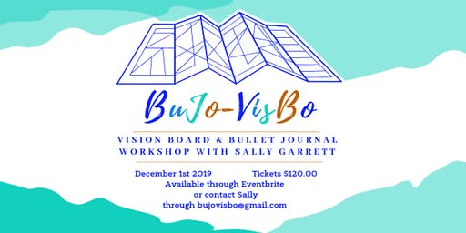 BuJo-VisBo -Bullet Journal and Vision Board Workshop, Goal Setting for 2020