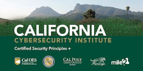 C)SP  Certified Security Principles /LiveRemote Dec 2-6, 2019 tickets