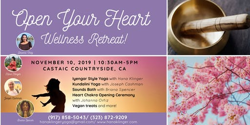 Open Your Heart - Wellness Retreat