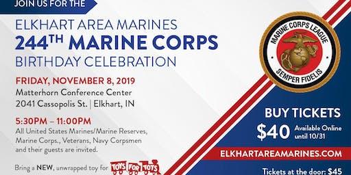 244th Marine Corps Birthday Celebration