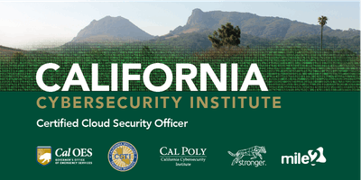 C)CSO — Certified Cloud Security Officer /Live Remote Nov 18-22, 2019 GTR
