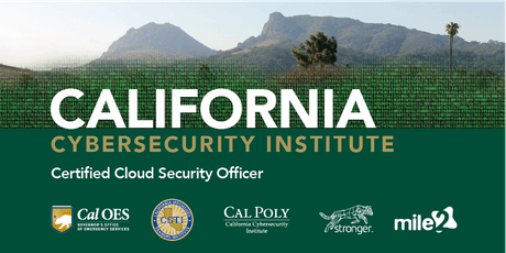 C)CSO — Certified Cloud Security Officer /Live Remote March 2020 tickets