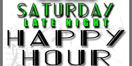 Saturday Late Night Happy Hour at Circles tickets