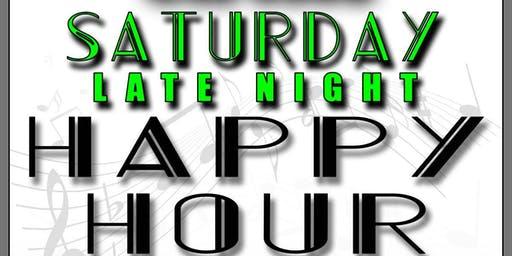 Saturday Late Night Happy Hour at Circles