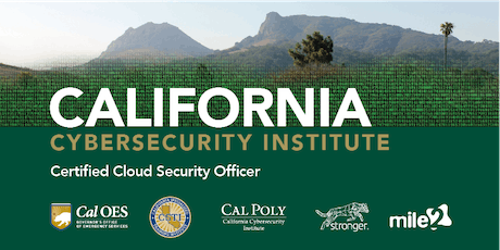 C)CSO — Certified Cloud Security Officer /Live Remote June 2020 tickets