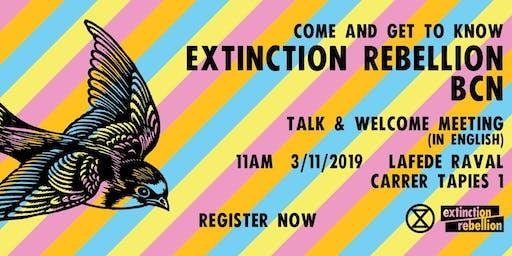 Extinction Rebellion Barcelona International Welcome Meeting [English]