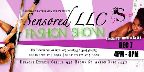 Sensored LLC FASHION SHOW tickets