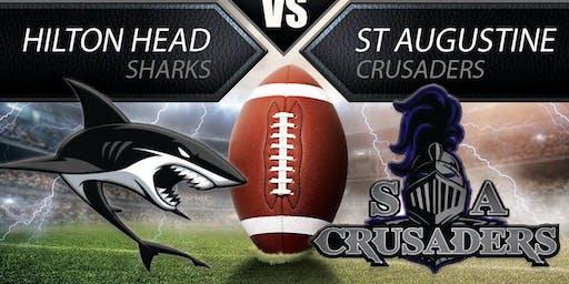 Hilton Head Sharks vs St Augustine Crusaders