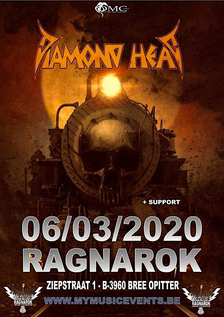 Afbeelding van DIAMOND HEAD @Ragnarok Live Club , B-3960 BREE