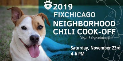Chili Cook-off for Chicago Shelter Dogs!