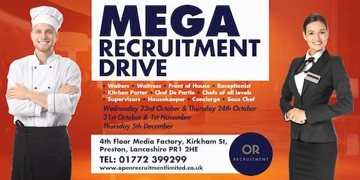 Mega Recruitment Drive - 24 October 2019