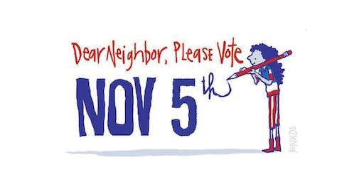 Voter Mobilization Postcard Party