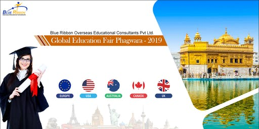 Blue Ribbon Overseas Global Education Fair Phagwara - 2019