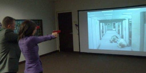 Virtual Reality Training For Gun Owners- 6:30 P.M. to 8:30 P.M.