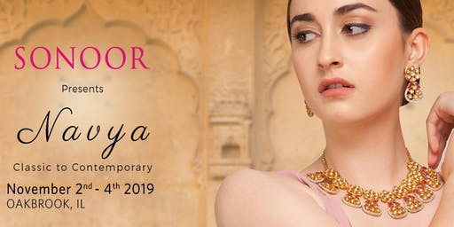Sonoor Jewelry Show in Oak Brook, IL
