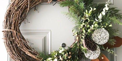 Winter wreath class