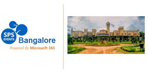SharePoint Saturday Bangalore 2019