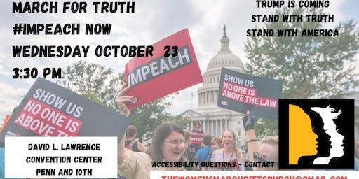 March For Truth #ImpeachandRemove