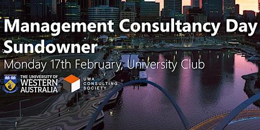 2020 Management Consultancy Day Sundowner
