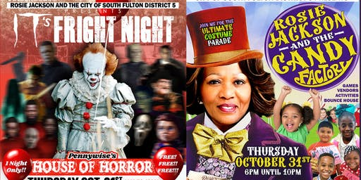 City of South Fulton Candy Factory & House Of Horrors