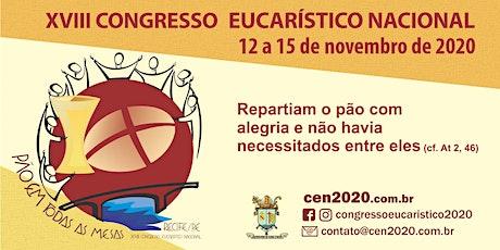XVIII Congresso Eucarístico Nacional - Recife ingressos