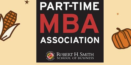 University of Maryland Smith School PTMBAA Friendsgivng Happy Hour