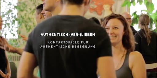 Authentisch (Ver-)Lieben - Kontaktspiele für authentische Begegnung Wien